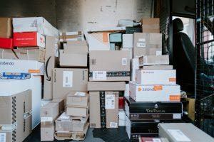 Furloughed Worker Delivers Parcels